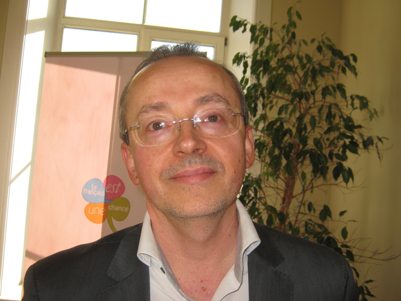 Директор Французского Института в Санкт-Петербурге Мишель Гранж