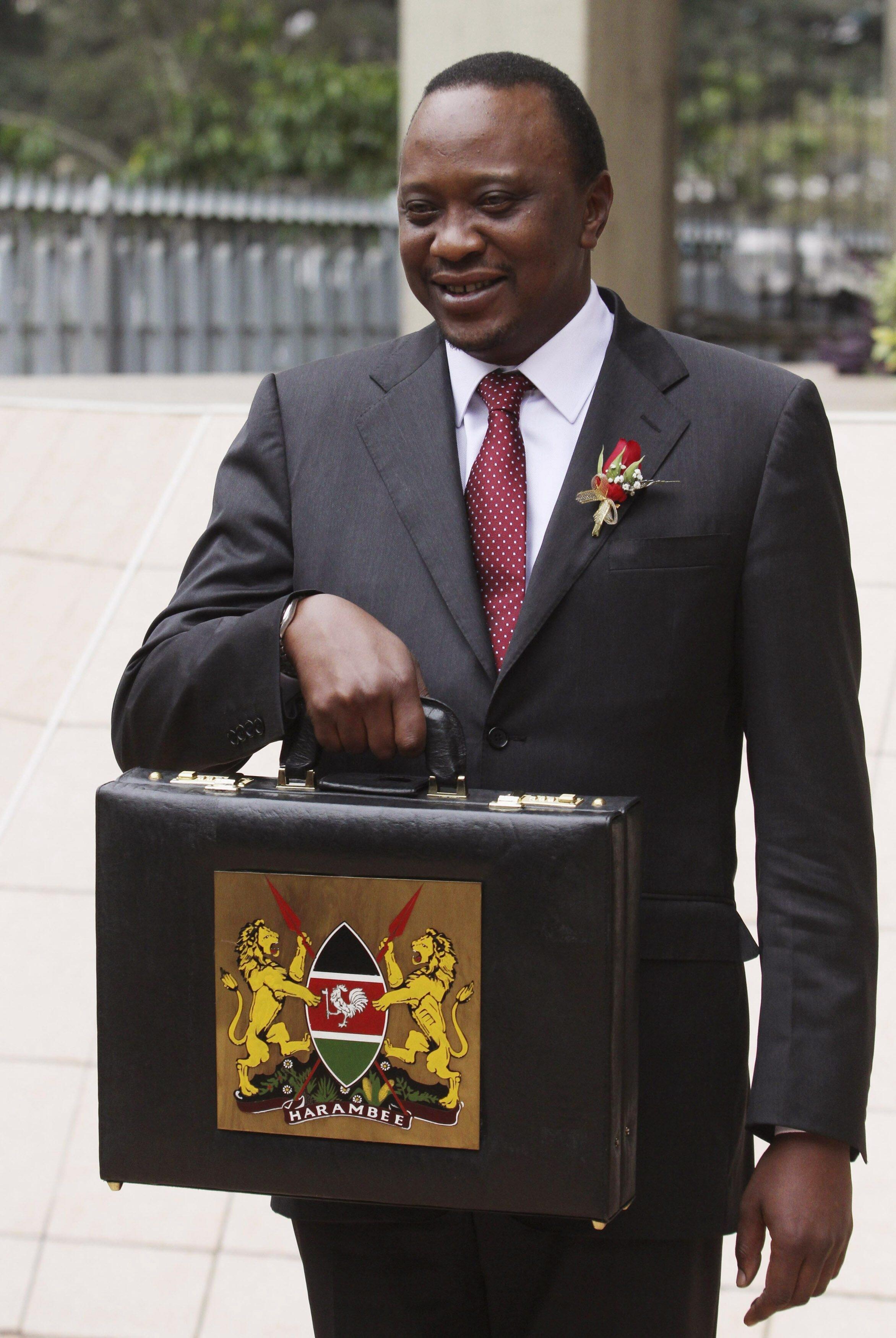 Uhuru Kenyatta Ministan kudi na kasar Kenya
