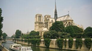 La cathédrale Notre Dame de Paris.