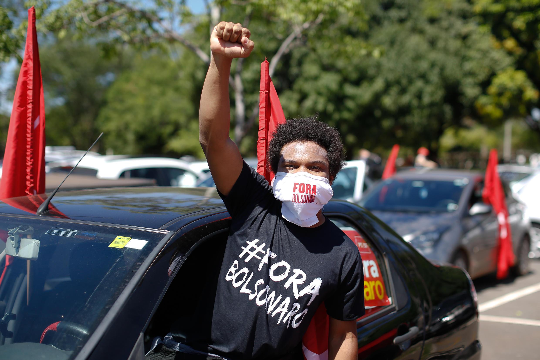 تصویری از تظاهرات روز شنبه ۲۳ ژانویه، در برزیل