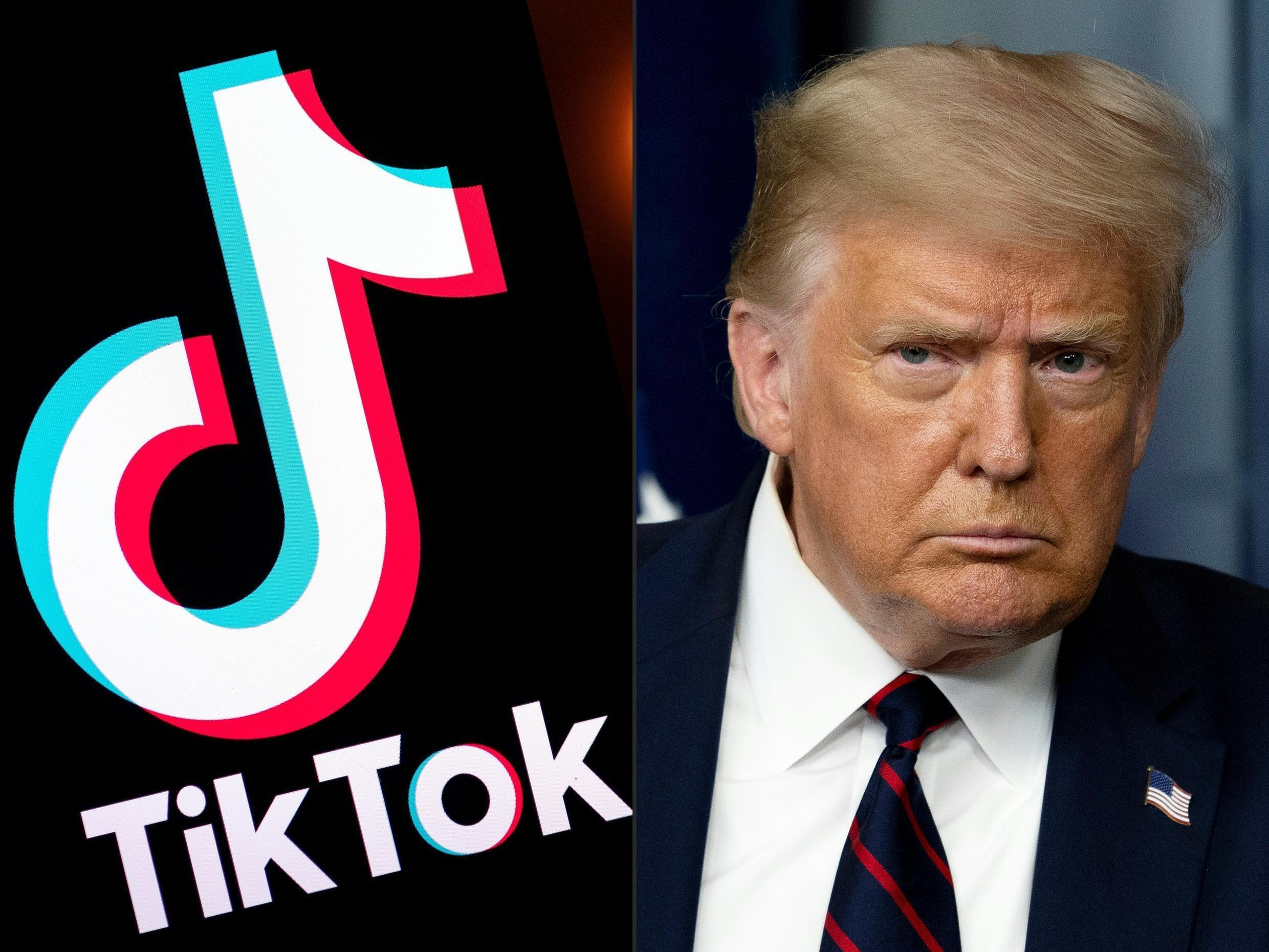 US President Donald Trump argues that popular Chinese-owned social media app TikTok is a threat to national security