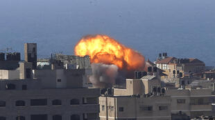 Israël - Gaza - Frappe aérienne - AP21134670000990