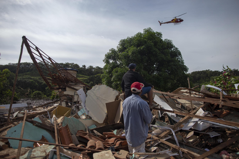 (法广存档图片) Image d'archive RFI : La tragédie dans la ville brésilienne de Brumadinho s'est produite le 25 janvier 2019, lorsque le barrage d'une mine de Vale a éclaté, déversant des millions de tonnes de déchets avec un solde de 270 morts, dont 11 disparus.