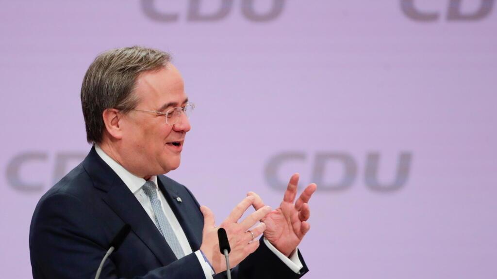 Allemagne: Armin Laschet élu président de la CDU pour continuer l'ère Merkel
