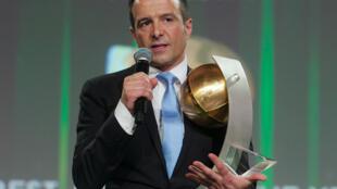 Jorge Mendes, une des personnalités les plus influentes du monde du football, récompensé par le Globe Soccer du meilleur agent en 2013, prix qu'il obtient 7 fois.