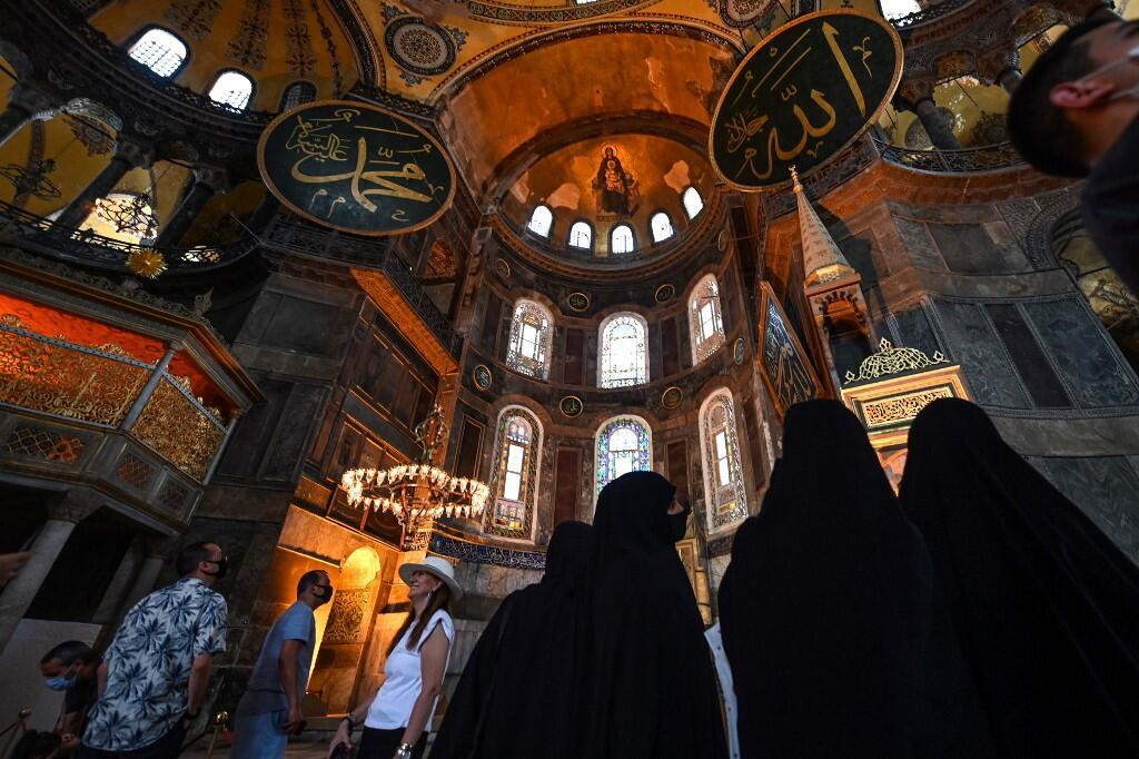 Sainte-Sophie a déjà été une mosquée avant d'être un musée.