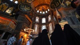 Sainte-Sophie a été une mosquée avant d'être un musée.