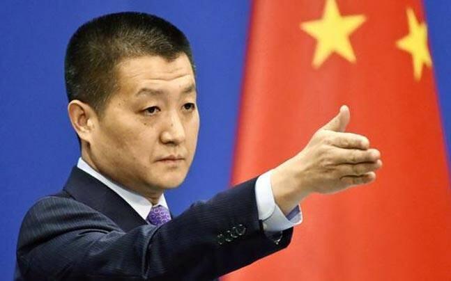 中國外交部發言人陸慷資料圖片