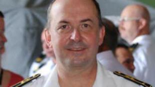 Contre-amiral Hervé Bléjean.