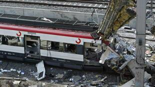 Estación madrileña de Atocha, el 11 de marzo de 2004.