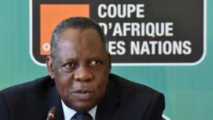 Le Camerounais Issa Hayatou.