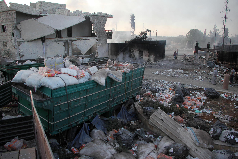 Ataque a uma coluna humanitária na Síria vitimou 20 civis e um elemento do Crescente Vermelho