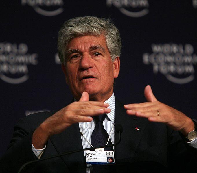 Maurice Levy, é diretor do grupo de mídia Publicis e também presidente da Associação de Empresas Privadas da França.