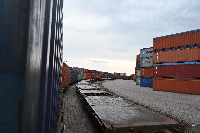 Côte d'Ivoire - Abidjan - Port -Container