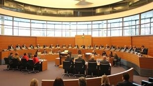 Quang cảnh một phiên xử tại Tòa án Quốc tế về Luật Biển