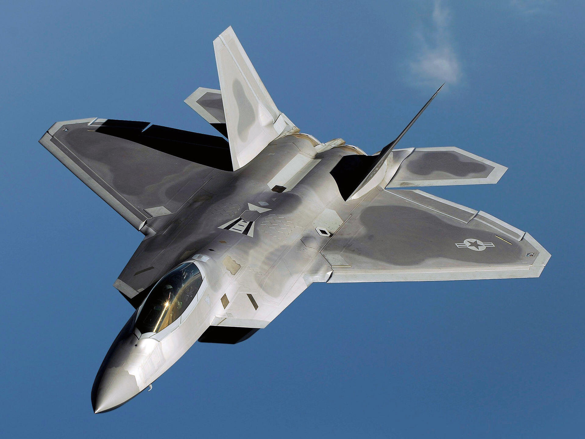 Chiến đấu cơ Lockheed Martin F-22 Raptor (ảnh wikipedia.org)