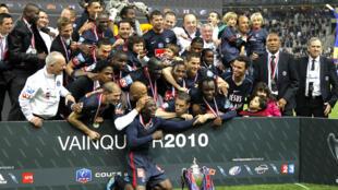 Câu lạc bộ Paris Saint-Germain lần thứ tám đoạt cúp bóng đá Pháp, ngày 01/05/2010