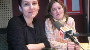 Susana Gallego & Pilar Sáez en RFI.