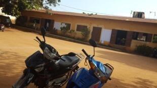 La cour d'une école d'Avakpa au Bénin (image d'illustration)