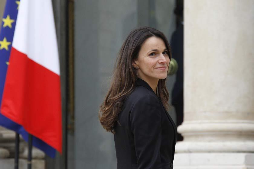 Aurélie Filippetti, la nueva ministra de Cultura.