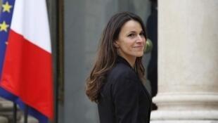 Aurélie Filippetti, la ministre de la Culture en France.