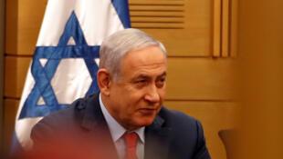 Le Premier ministre israélien Benyamin Netanyahu, le 29 mai à la Knesset. «Les masques sont tombés», proclame un chroniqueur de la vie politique israélienne.
