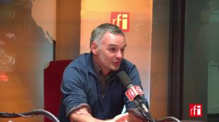 Laurent Pinatel, paysan dans la Loire et porte-parole de la Confédération paysanne.