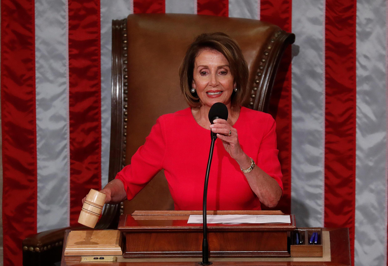 Spika wa Bunge la Marekani Nancy Pelosi.