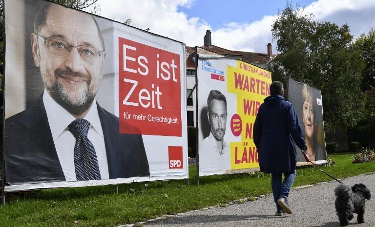 Eleições legislativas na Alemanha realizam-se neste domingo.