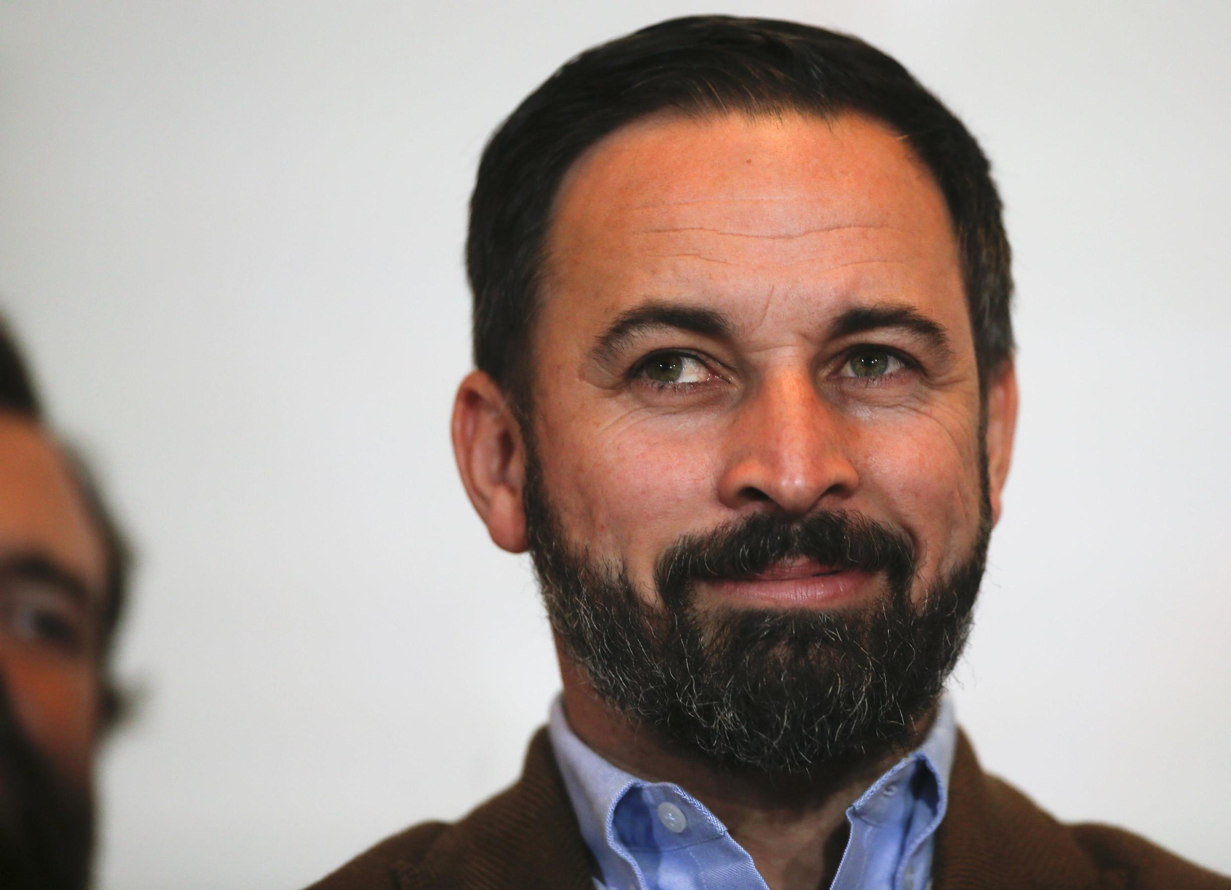 Santiago Abascal has led Vox into the position of kingmakers following elections in Andalusia.