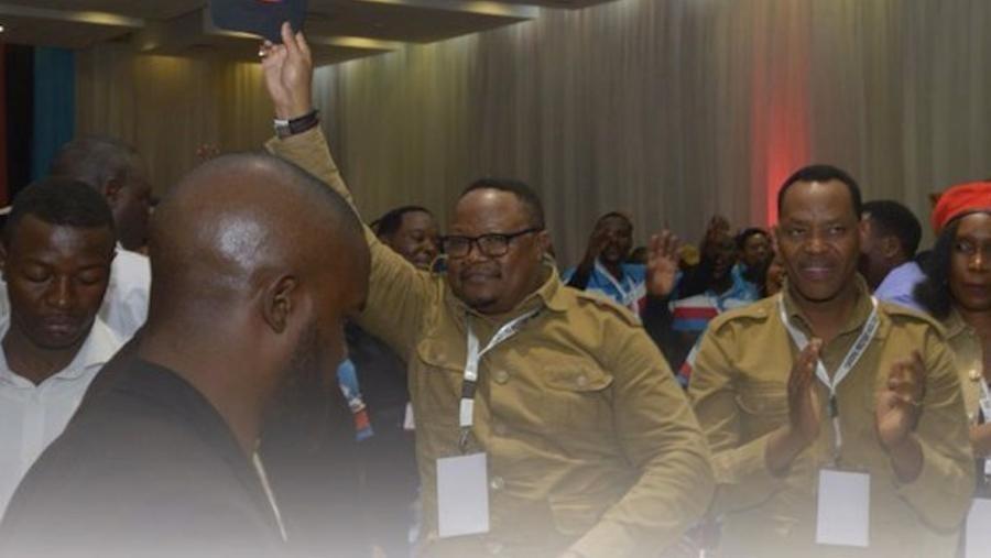 Tundu Lissu jagoran 'yan adawa dake takarar shugabancin kasar Tanzania a zaben watan Oktoba.