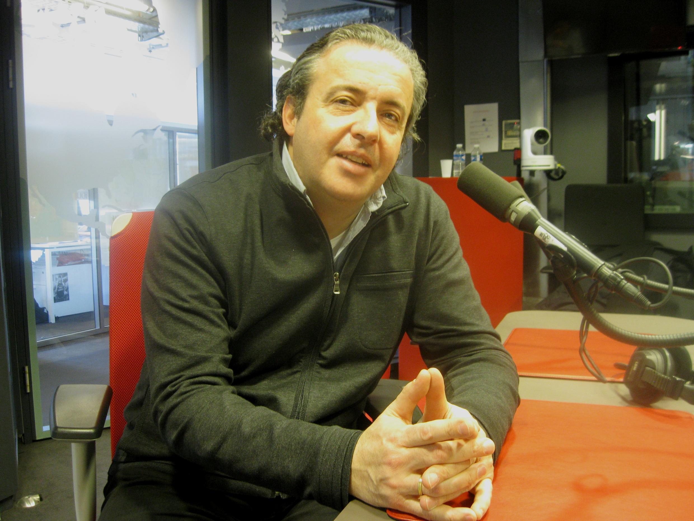 Juanjo Mena en los estudios de RFI