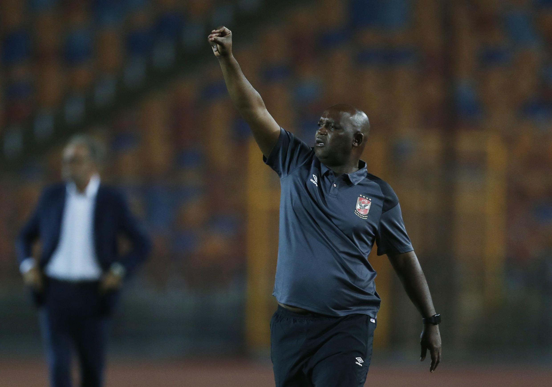 Le Sud-Africain Pitso Mosimane, l'entraîneur d'Al Ahly. (Illustration)