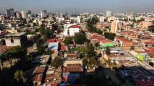 Une vue d'Addis Abeba, en Ethiopie (photo d'illustration=