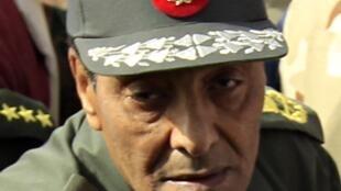 Ell mariscal Mohamed Hussein Tantaoui, en su calidad de ministro de defensa y ex jefe el Consejo Supremo de las Fuerzas Armadas de Egipto.