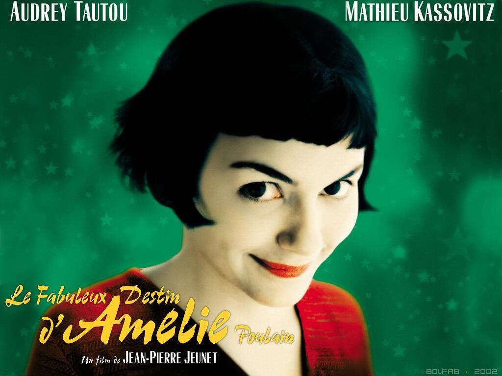 Cartaz do filme francês, O Fabuloso Destino de Amélie Poulain, 2001