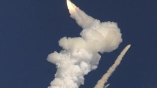 A nave perdeu o controle menos de um minuto após a decolagem, na base de lançamento de Shiharikota.