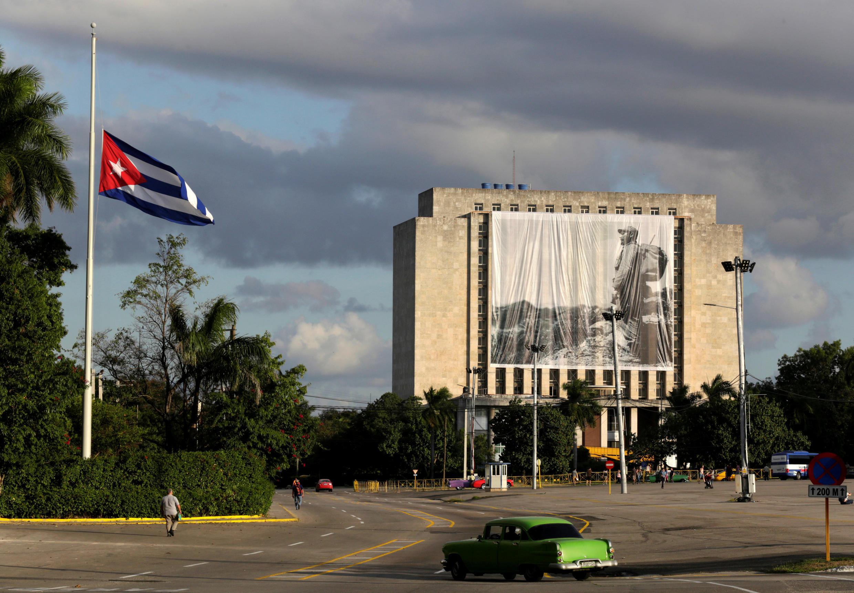 Mji wa Havana, Novemba 27, 2016, unajiandalia mfululizo wa maadhimisho ya kumbukumbu ya Fidel Castro.