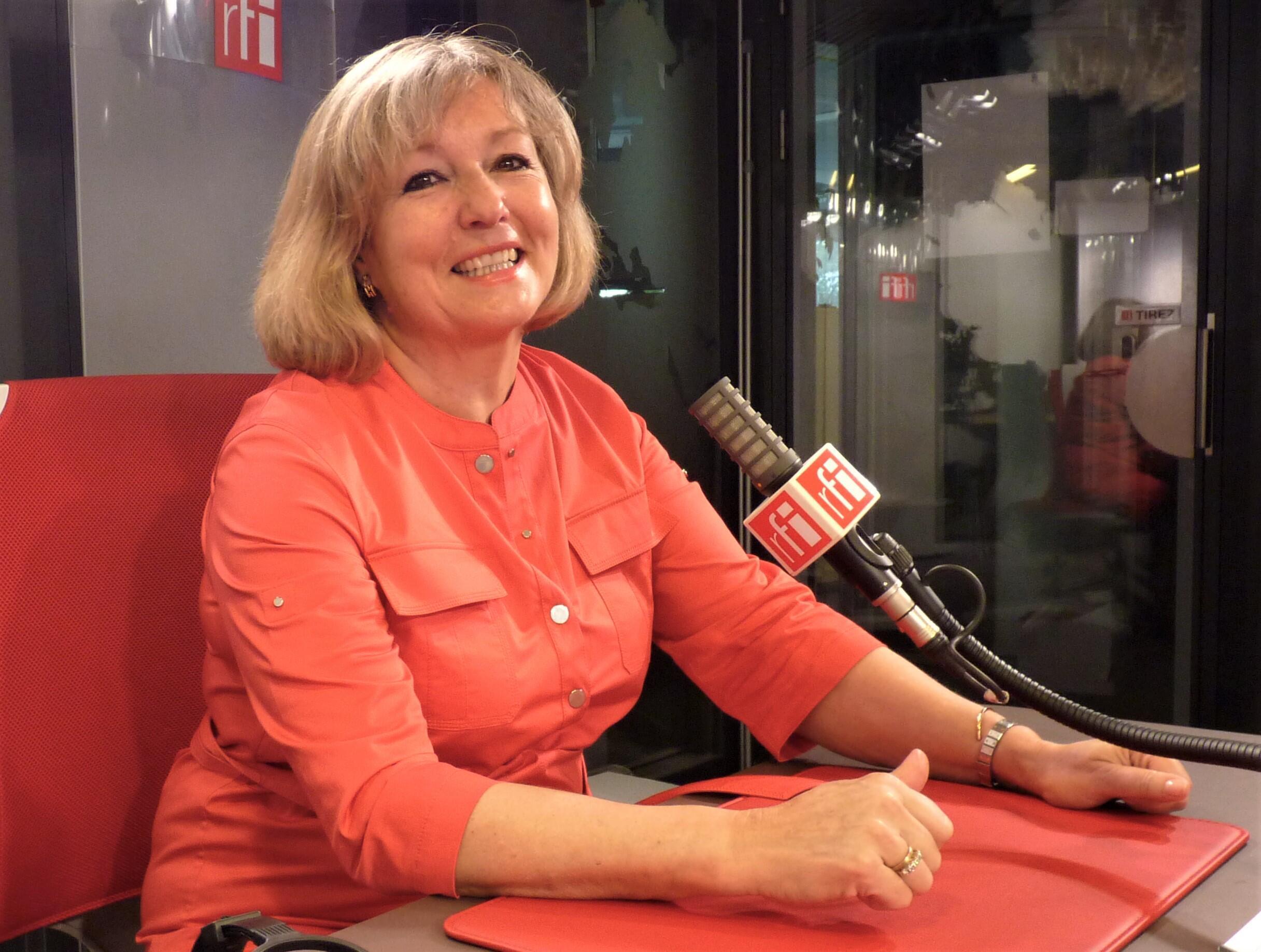 La historiadora del arte Tania Fernández de Toledo en RFI