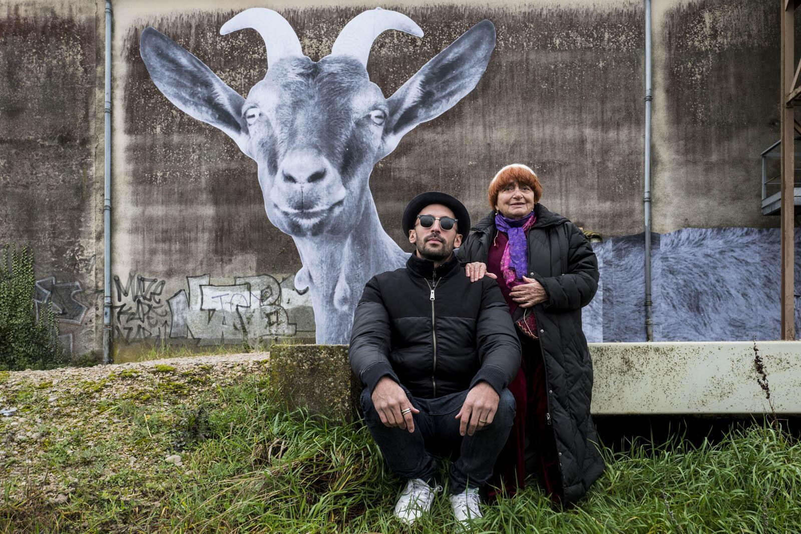 JR et Agnès Varda.