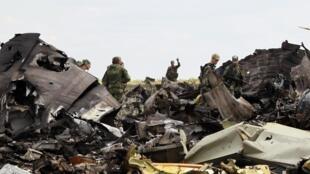 Os separatistas pró-russos derrubaram um avião das forças ucranianas nesta sexta-feira