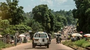 Une ambulance transporte des victimes d'Ebola à Mbandaka en RDC (photo d'illustration).