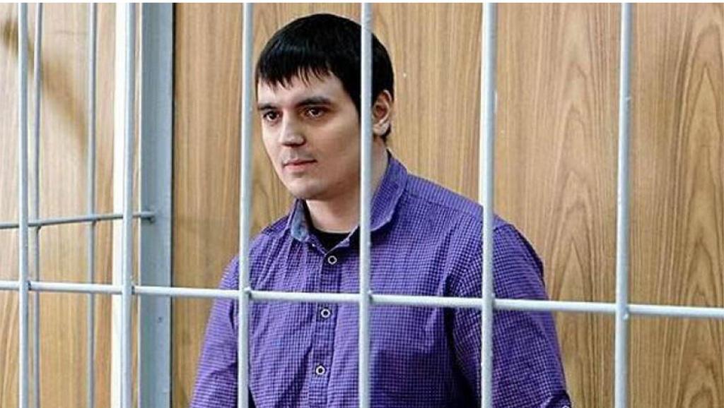 Nhà báo Alexandre Sokolov bị chính quyền Nga kết án 3 năm rưỡi tù (Ảnh chụp site Phóng viên không biên giới)