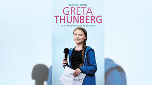 Couverture du livre «Greta Thunberg, la voix qui secoue la planète».
