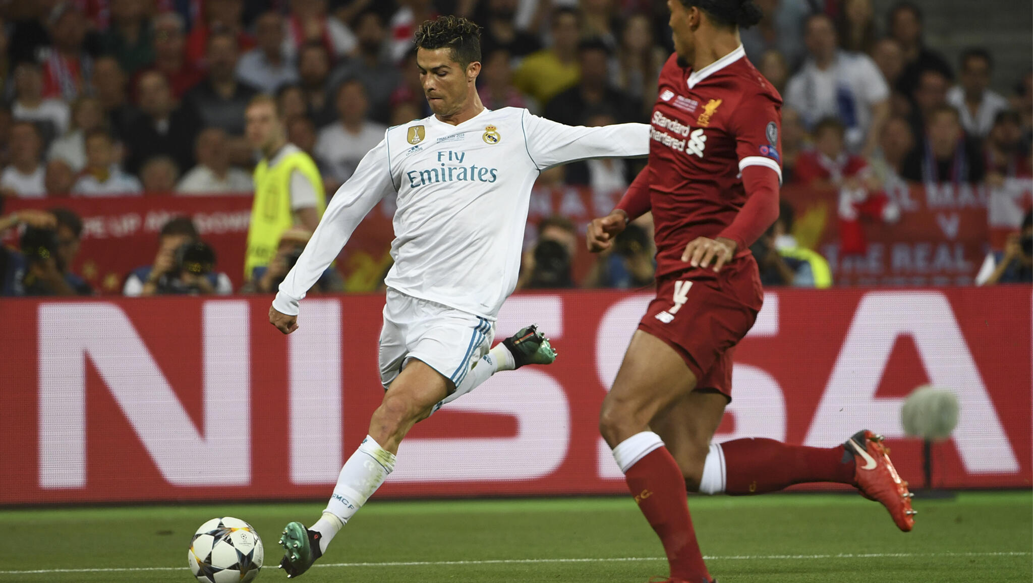 Real Madrid ta lallasa Liverpool da kwallaye 3-1 a wasan karshe na gasar zakarun Turai a 2018.