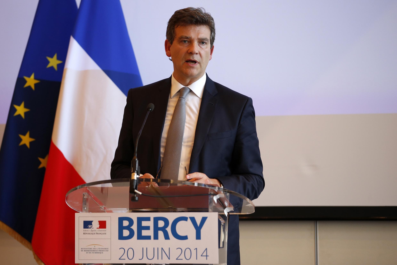 Economy Minister Arnaud Montebourg, whose criticism precipitated the crisis