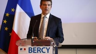 Economy Minister Arnaud Montebourg, whose criticism precipitated the crisis