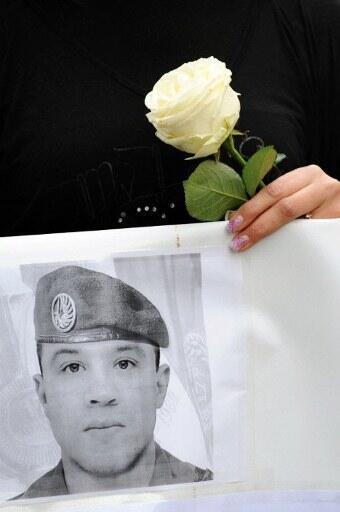 Le soldat Abel Chennouf, une victime de Mohamed Merah