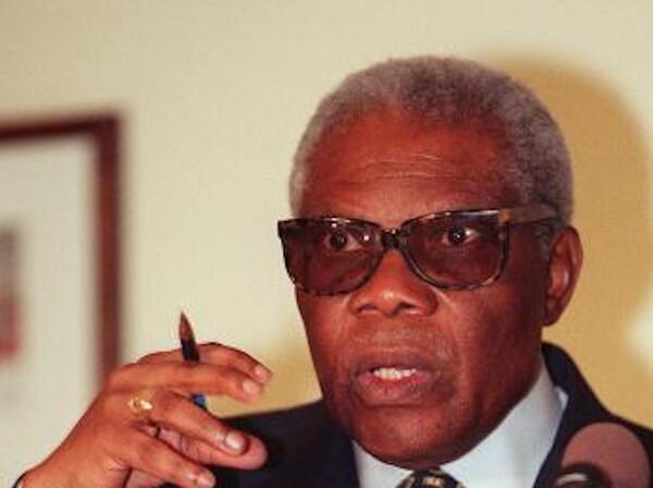 Pascal Lissouba, ancien président du Congo-Brazzaville.