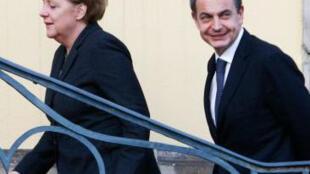 En enero 2011 Angela Merkel  ofreció  trabajo en Alemania a jóvenes españoles, con un doble fin: primero cubrir el déficit de puestos de cualificación que tiene Alemania y por otro ayudar a España a rebajar su tasa de desempleo entre los jóvenes.